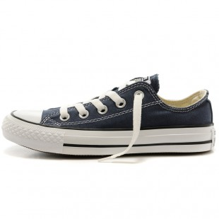 Classics Converse Chucks All Star Blue Navy Low Top Canvas Sneakers