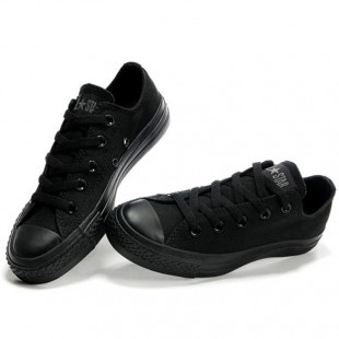 Classics Converse All Star Black Low Top Canvas Shoes