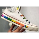 Converse Chuck 1970S Rainbow Limited White Canvas Low Tops