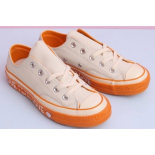 Converse Chuck 70 Love Graphic White Orange Low Top Leather 563474C