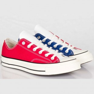 Converse Chucks All Star 1970s Low Nightshade Red-purple Tri-Color Sneakers