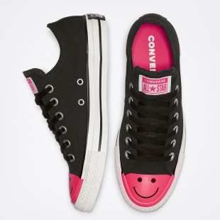 Converse Chuck Taylor All Star Carnival Colorblock Black Low Top