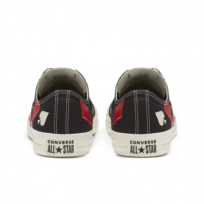 Converse Chuck Taylor All Star Queen of Hearts Black Low Top