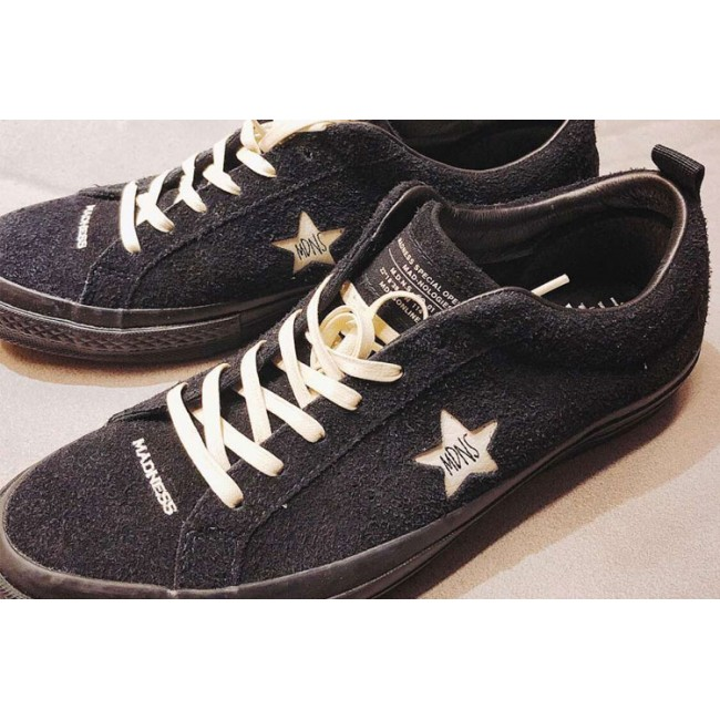 419604b9534bac ... coupon for madness x converse one star chucks collection black low  sneakers 98a03 049de