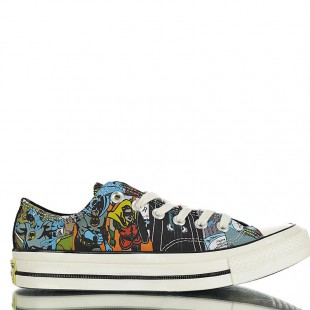 Marvel Comics Converse Chuck Taylor ALL STAR 1970s Low Top Transparent bottom Sneaker