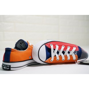 One Piece x Converse All Star 100 MC OX Red Orange Low