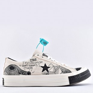 Tyler The Creator x Foot Locker x Converse One Star Artist Series Low Top shoes 164533C